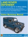 Land Rover Defender Diesel (Feb 2007 - 2016) 56 to 16 Haynes Online Manual