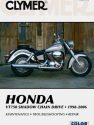 Honda VT750 Shadow Chain Drive Motorcycle (1998-2006) Service Repair Manual