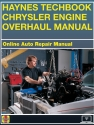 Chrysler Engine Overhaul Haynes Techbook (USA)