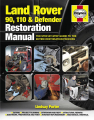 Land Rover 90,110 and Defender Restoration Manual (2nd Edition)