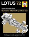 Lotus 72 Owners Manual (paperback)