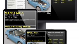 Mazda MX-5 service guide videos