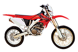 Picture of Honda Motorcycle CRF450R