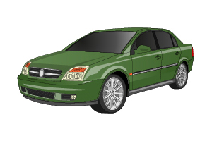 Picture of Opel Vectra 2002-2005