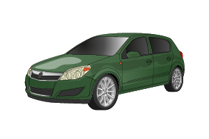 Picture of Opel Astra 2004-2008