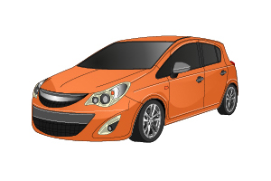 Picture of Opel Corsa 2006-2010