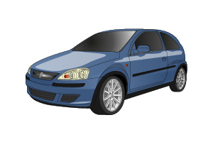Picture of Opel Corsa 2000-2003
