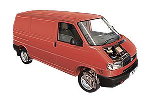 Volkswagen Transporter T4 Diesel VW Camper Van 1990-2003 Haynes Manual 5711