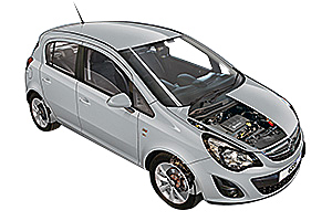 Picture of Opel Corsa 2011-2014