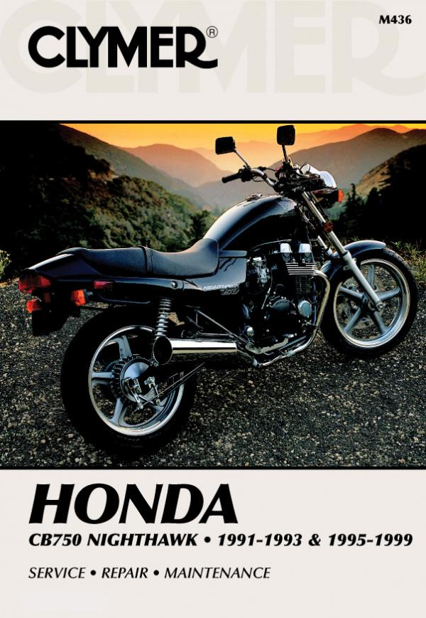 Honda CB750 Nighthawk Motorcycle (1991-1993) & (1995-1999) Service Repair Manual