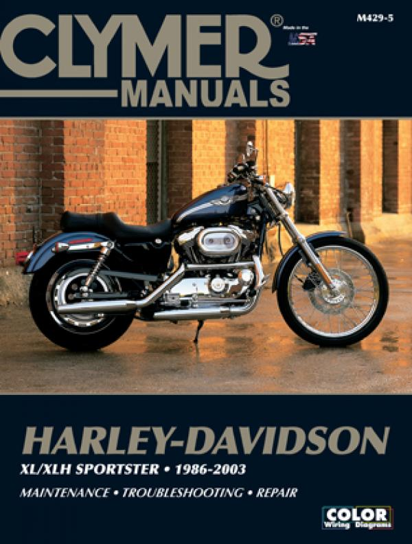Harley-Davidson Sportster Motorcycle (1986-2003) Service Repair Manual