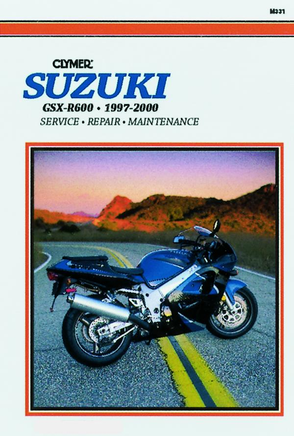 Suzuki GSX-R600 Motorcycle (1997-2000) Service Repair Manual