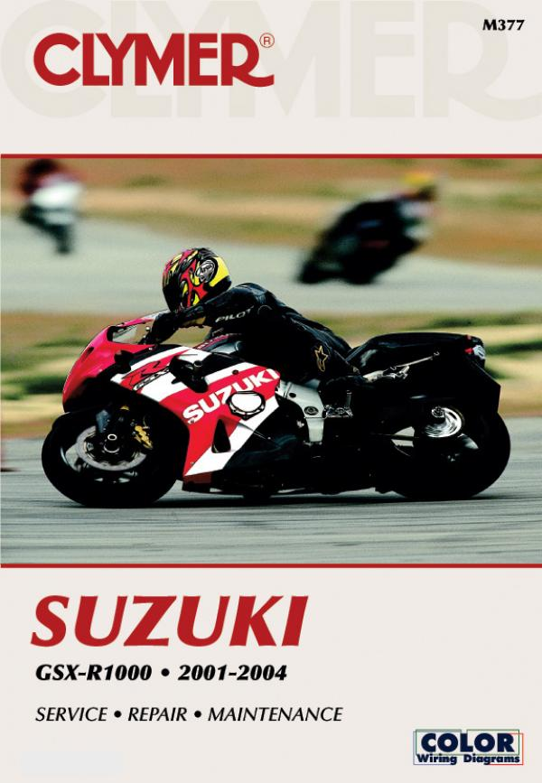 Suzuki GSX-R1000 Motorcycle (2001-2004) Service Repair Manual
