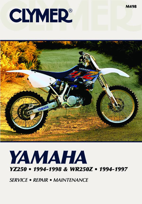 Yamaha YZ250 (1994-1998) & WR250Z (1994-1997) Motorcycle Service Repair Manual