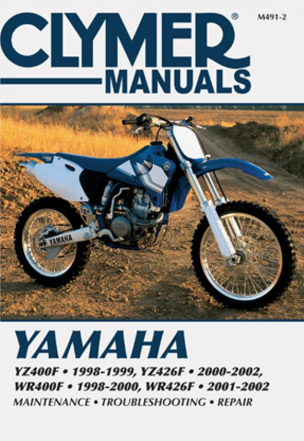 Yamaha YZ400F, YZ426F, WR400F & WR426F Motorcycle (1998-2002) Service Repair Manual