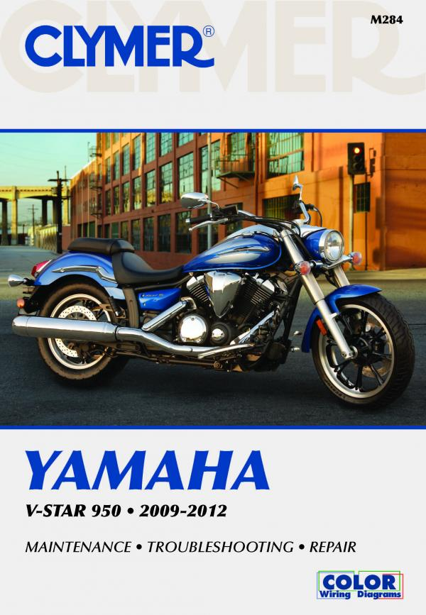 Yamaha V-Star 950 Motorcycle (2009-2012) Service Repair Manual