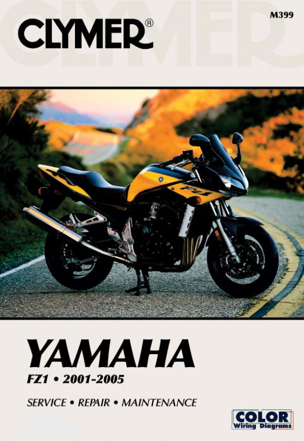 Yamaha FZ1 Motorcycle (2001-2005) Service Repair Manual
