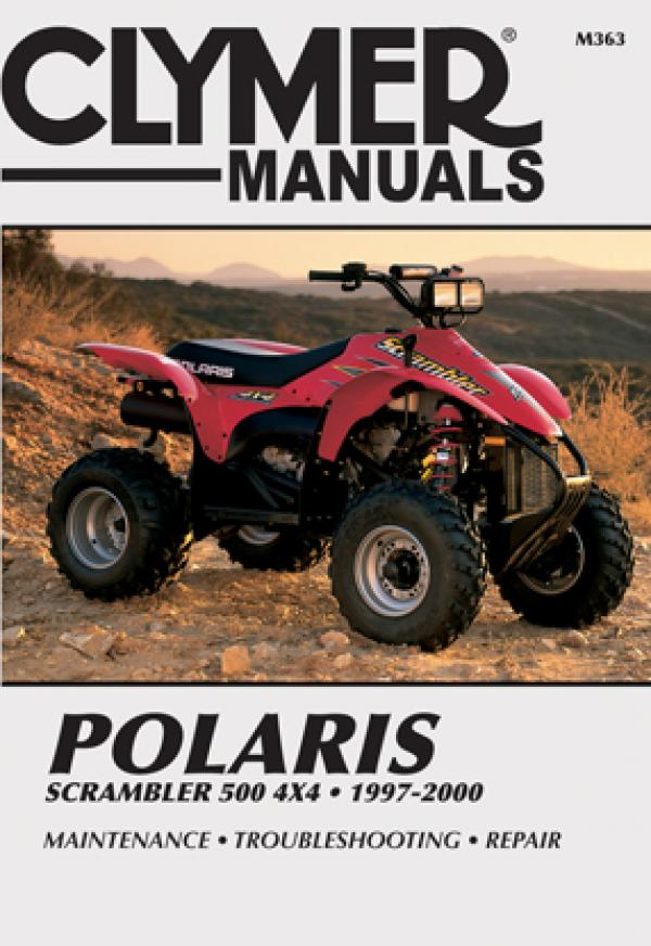 Polaris Scrambler 500 4x4 ATV (1997-2000) Service Repair Manual