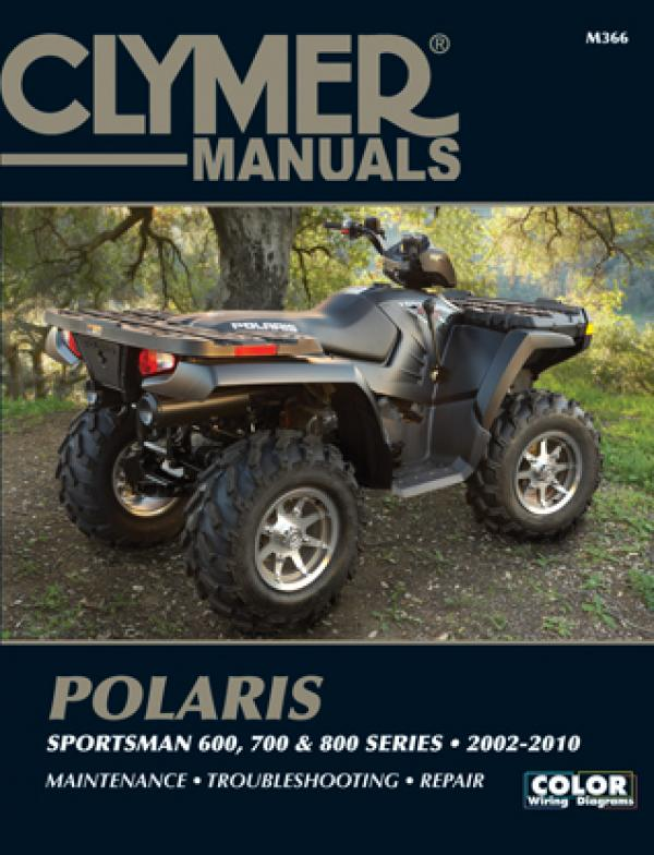 Polaris Sportsman 600, 700 & 800 Series ATV (2002-2010) Service Repair Manual