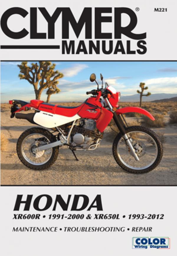 Honda XR600R-XR650L (1993-2007) Service and Repair Manual