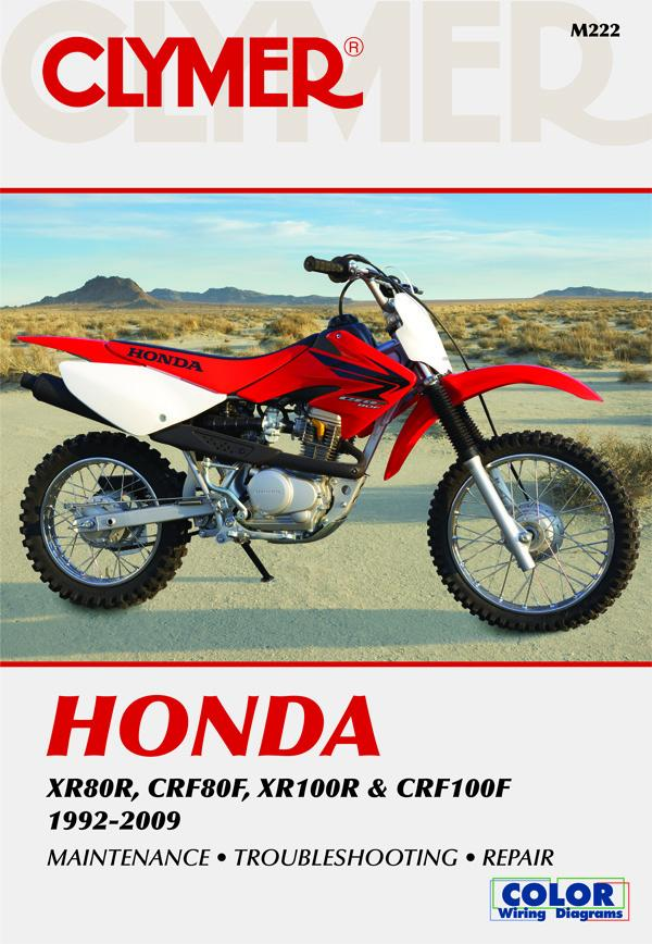 Honda XR & CRF Motorcycle (1992-2009) Service and Repair Manual