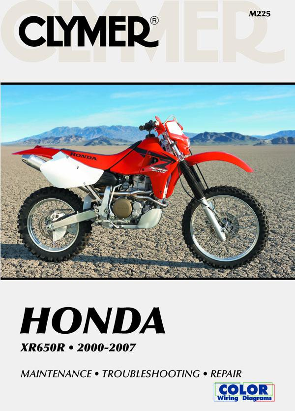 Honda XR650R Motorcycle (2000-2007) Service Repair Manual