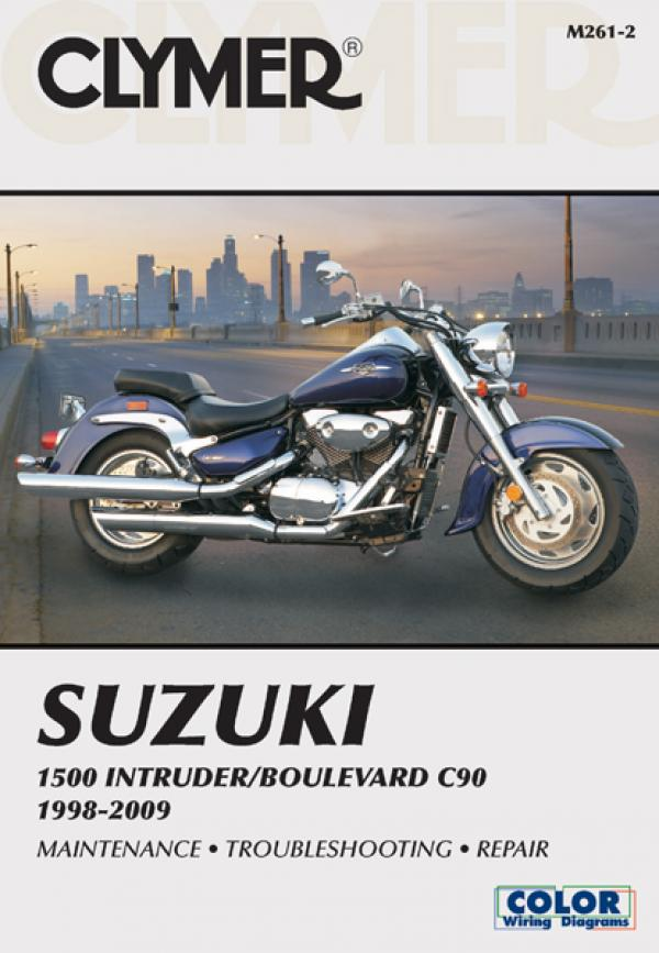 Suzuki Intruder & Boulevard Motorcycle (1998-2009) Service Repair Manual