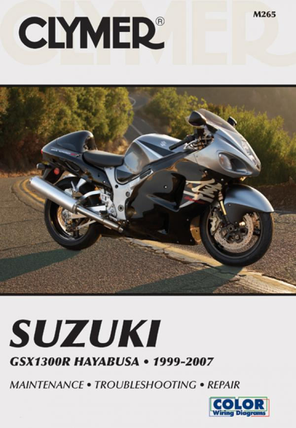 Suzuki GSX1300R Hayabusa Motorcycle (1999-2007) Service Repair Manual