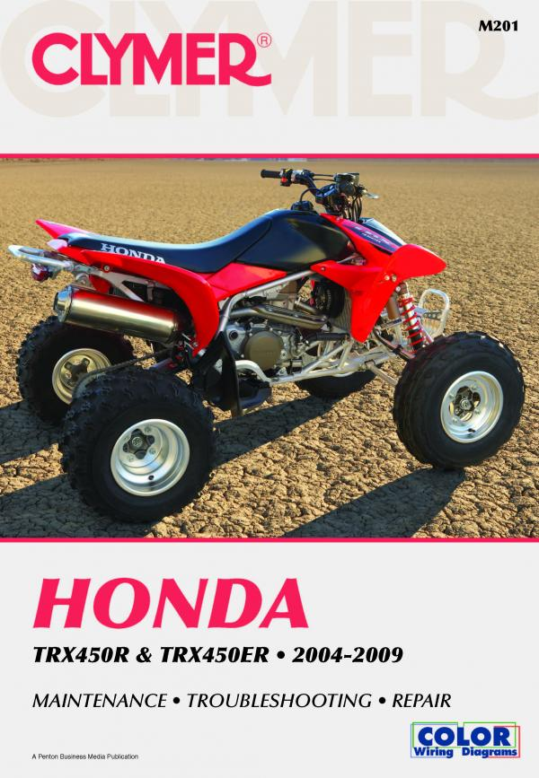 Honda TRX450 Series ATV (2004-2009) Service Repair Manual