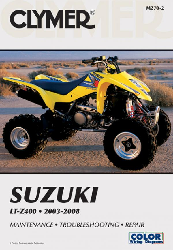 Suzuki LTZ400 Series ATV (2003-2008) Service Repair Manual