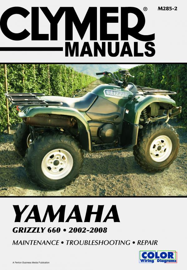 Yamaha YFM660F Grizzly 660 ATV (2002-2008) Service Repair Manual