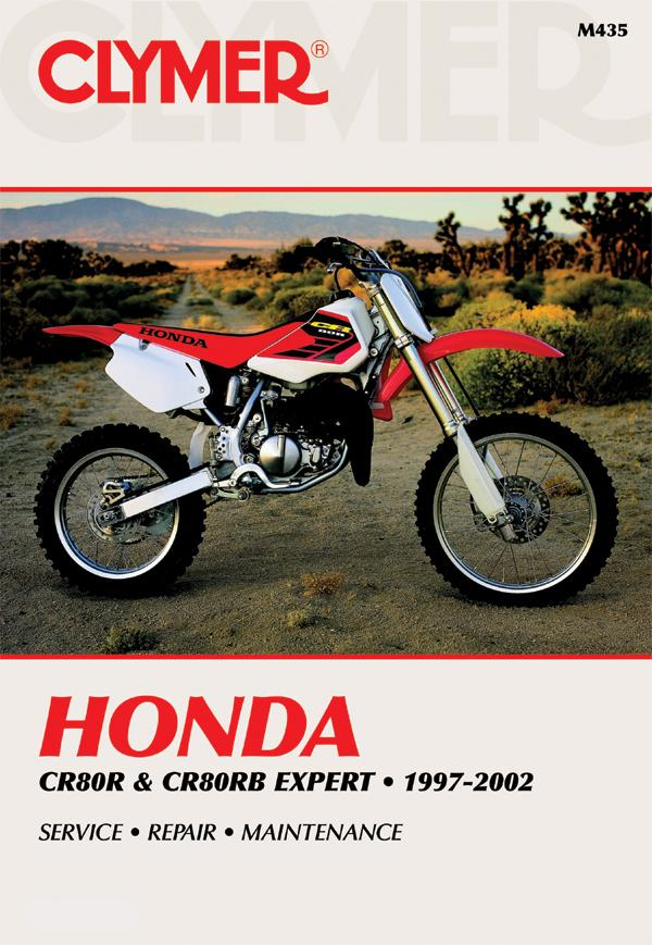 Honda CR80R & CR80RB Expert Motorcycle (1992-1996) Service Repair Manual