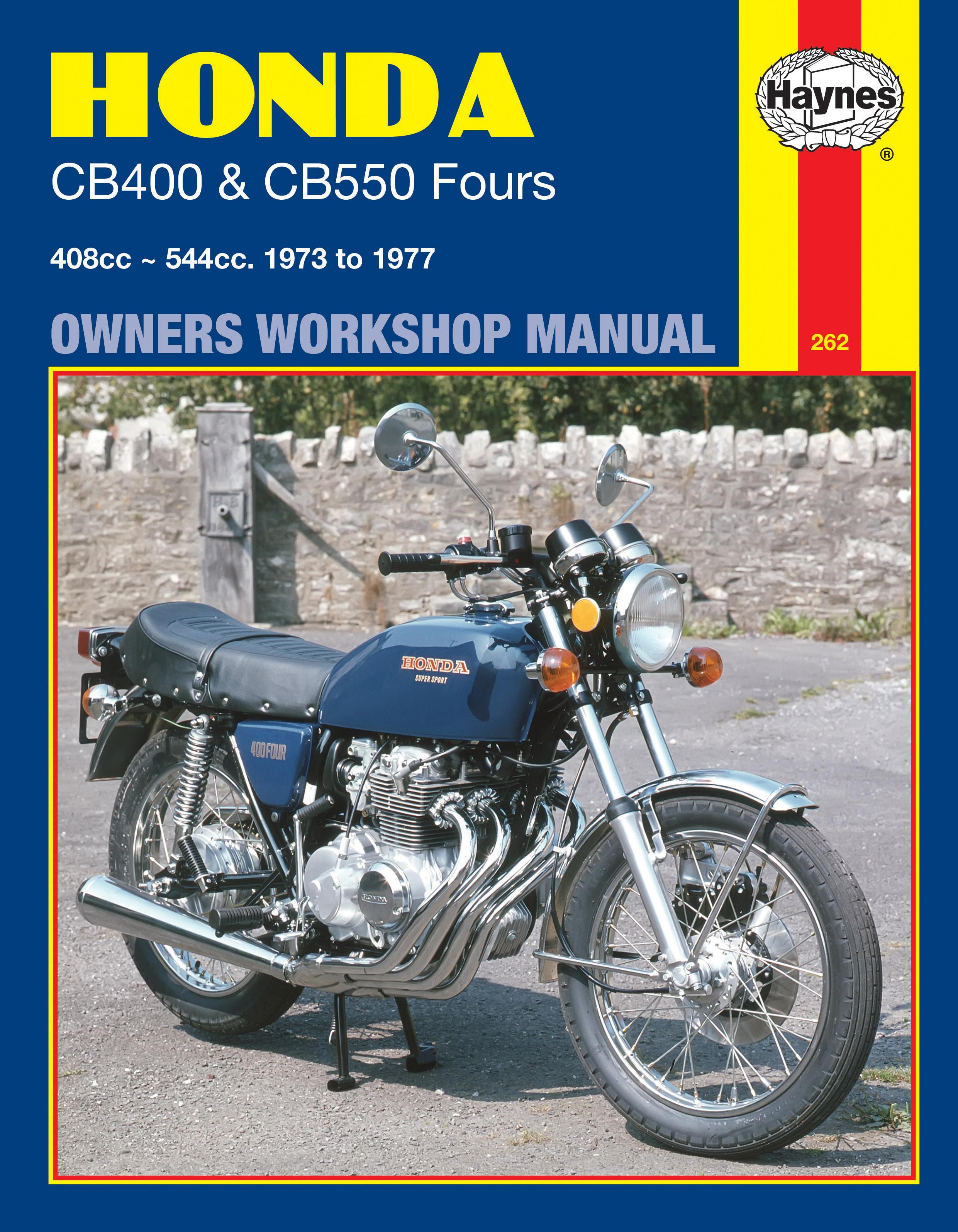 Honda CB400 & CB550 Fours (73 - 77) Haynes Repair Manual