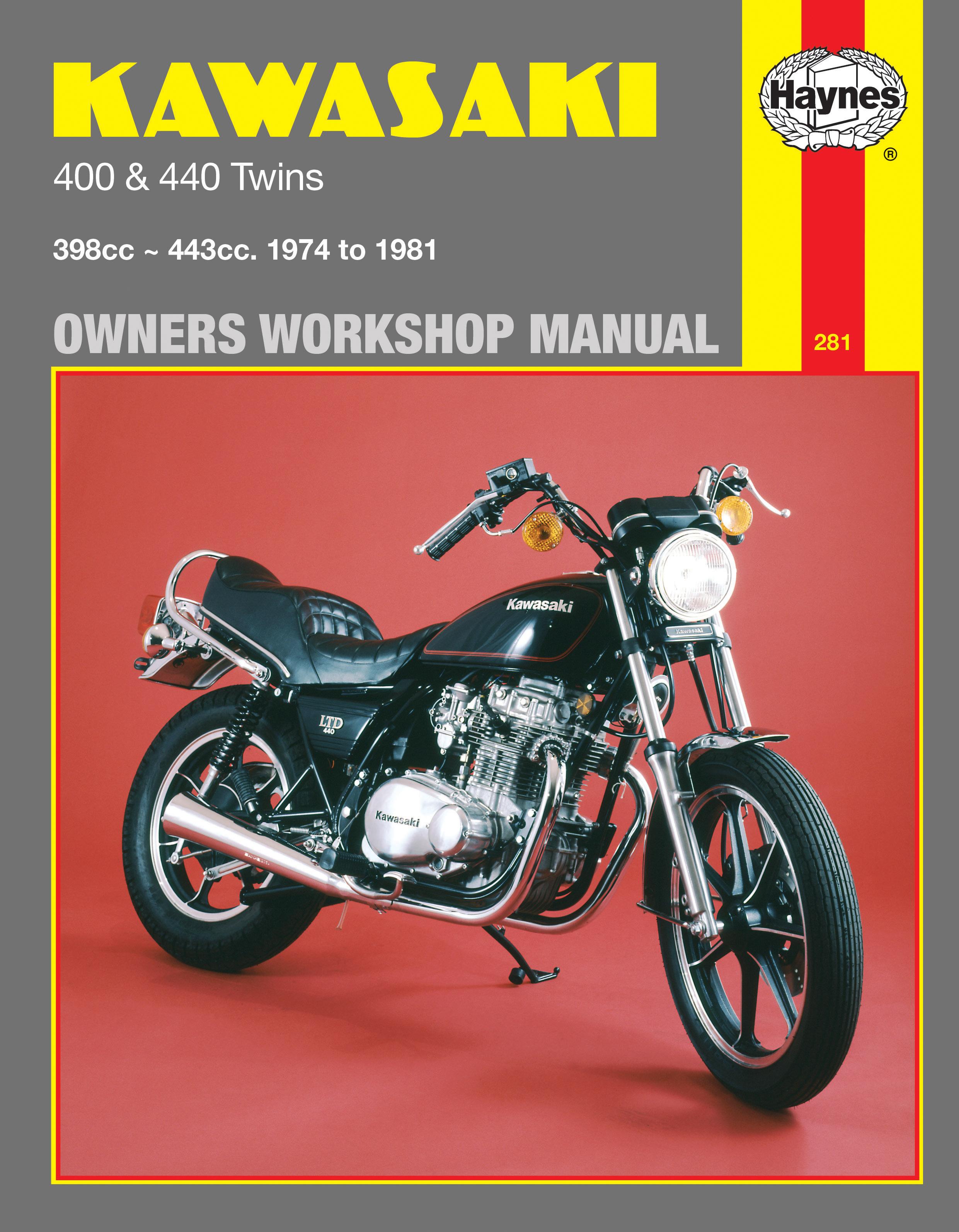 Kawasaki 400 & 440 Twins (74 - 81) Haynes Repair Manual