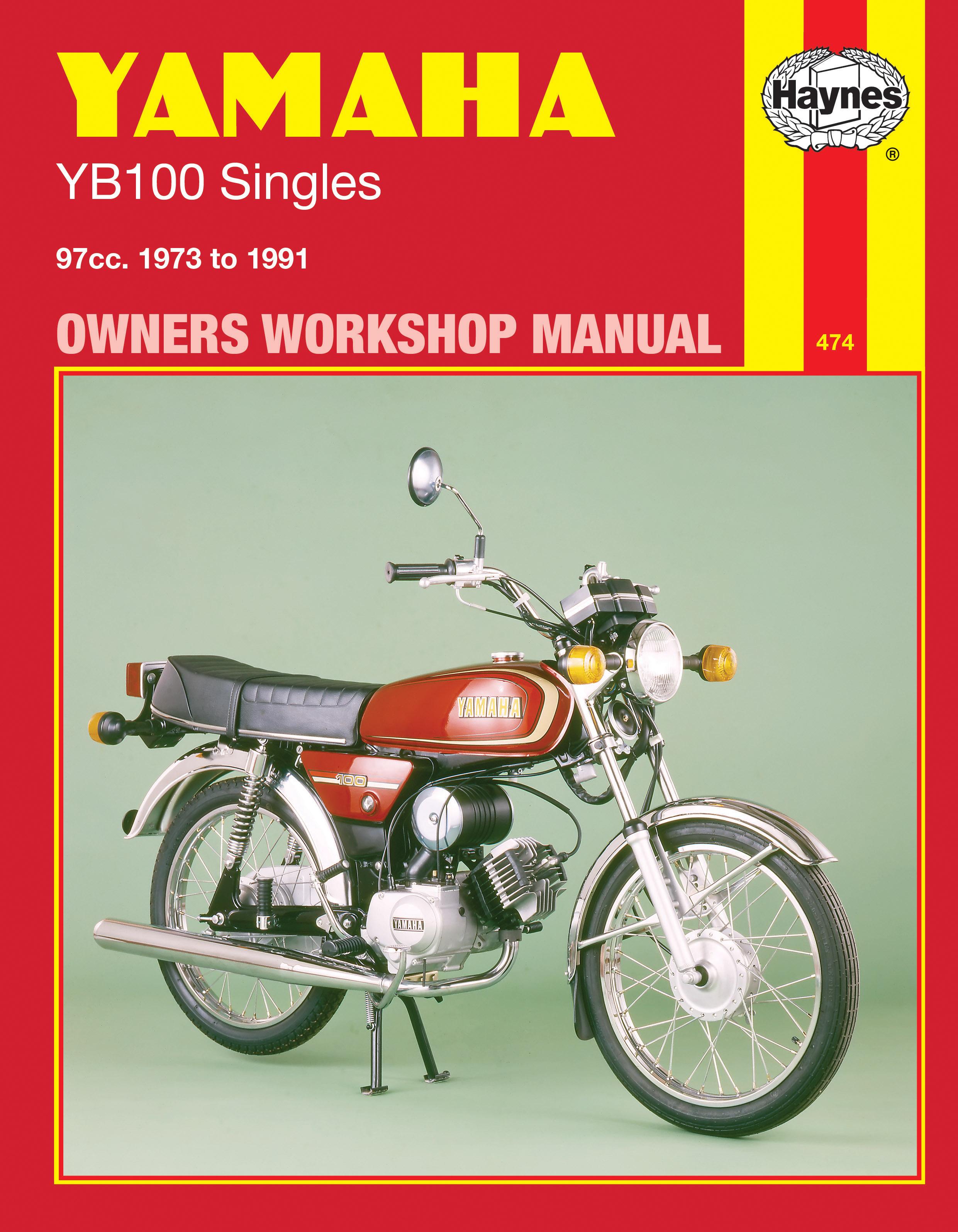 yamaha yb100 singles 73 91 haynes repair manual haynes publishing rh haynes com  yamaha yb 100 service manual free download