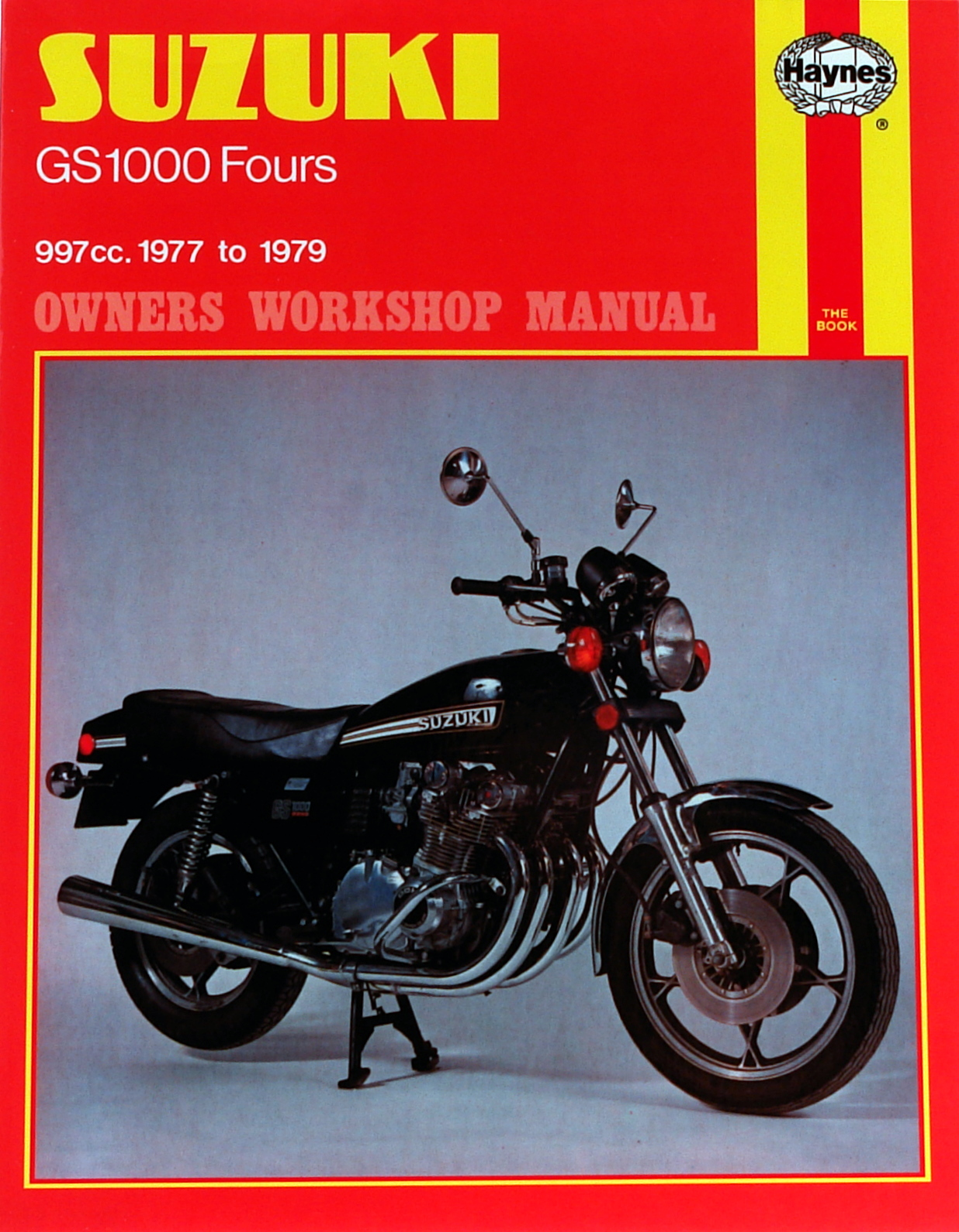 Suzuki GS1000 Four (77 - 79) Haynes Repair Manual