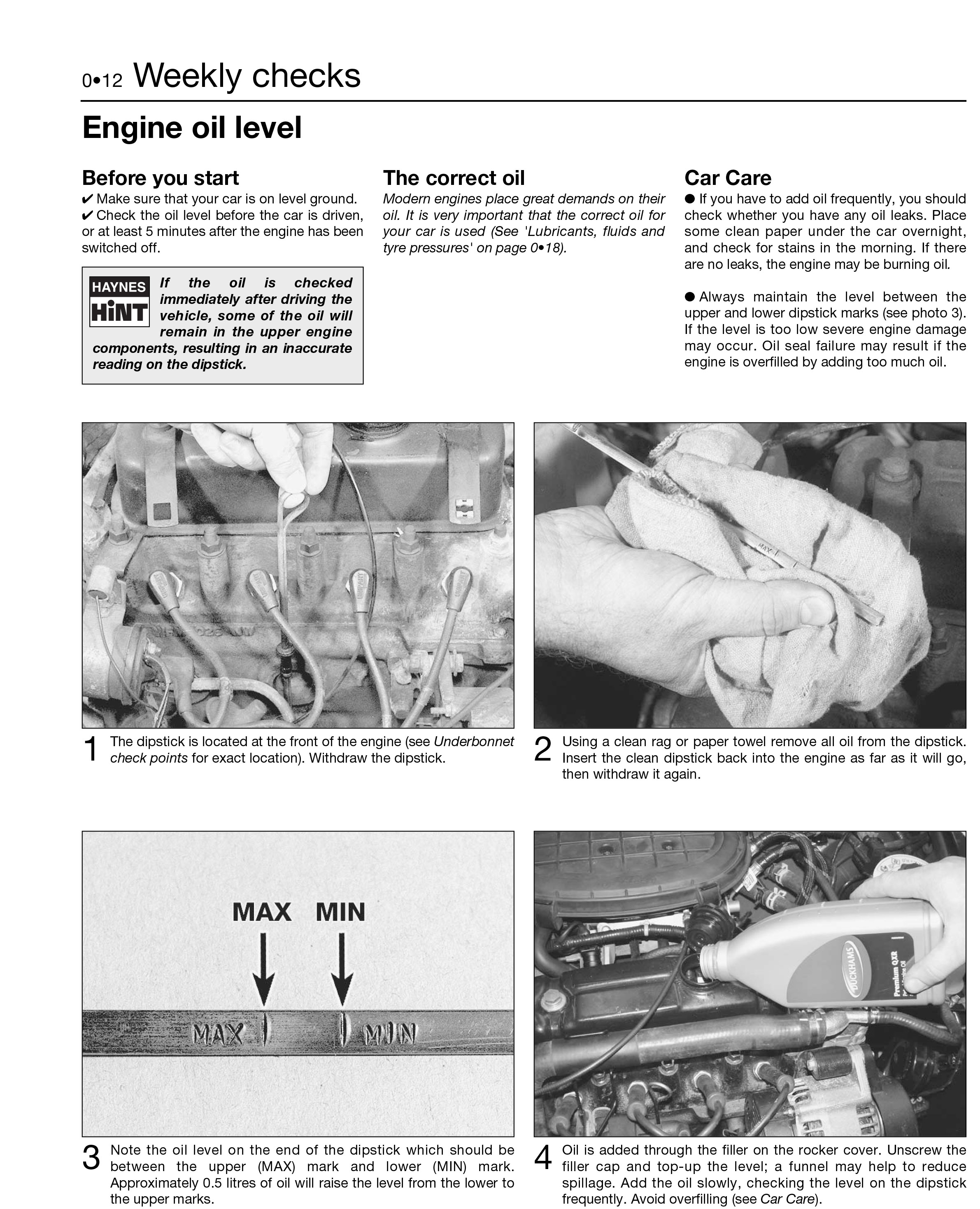 Mini (1969 2001) Haynes Repair Manual