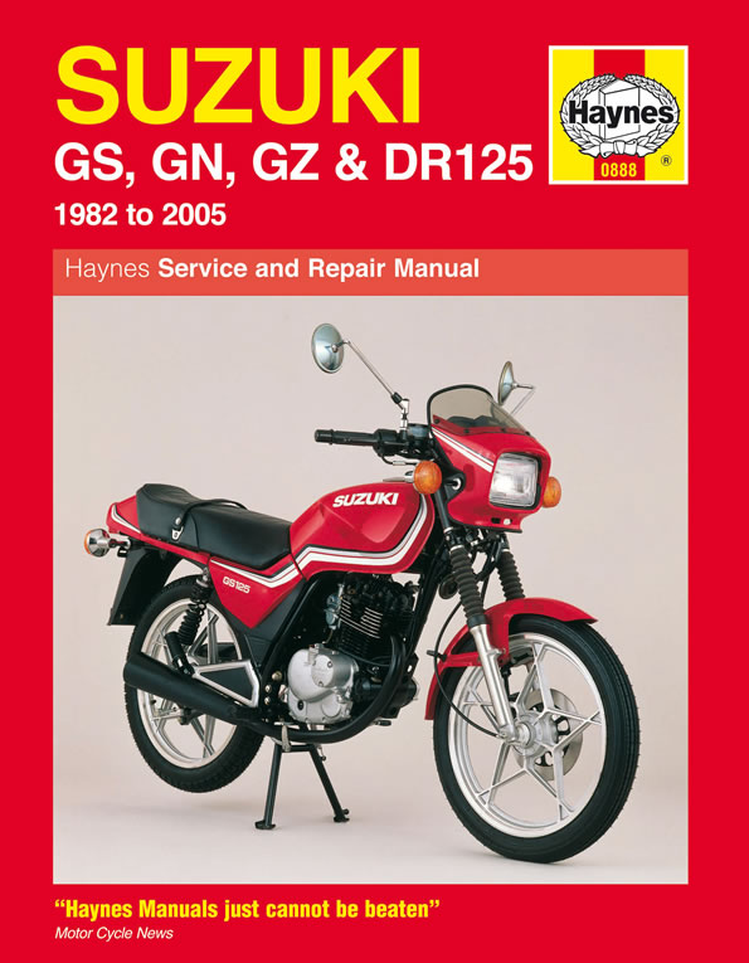 Suzuki GS, GN, GZ & DR125 Singles (82 - 05) Haynes Repair Manual