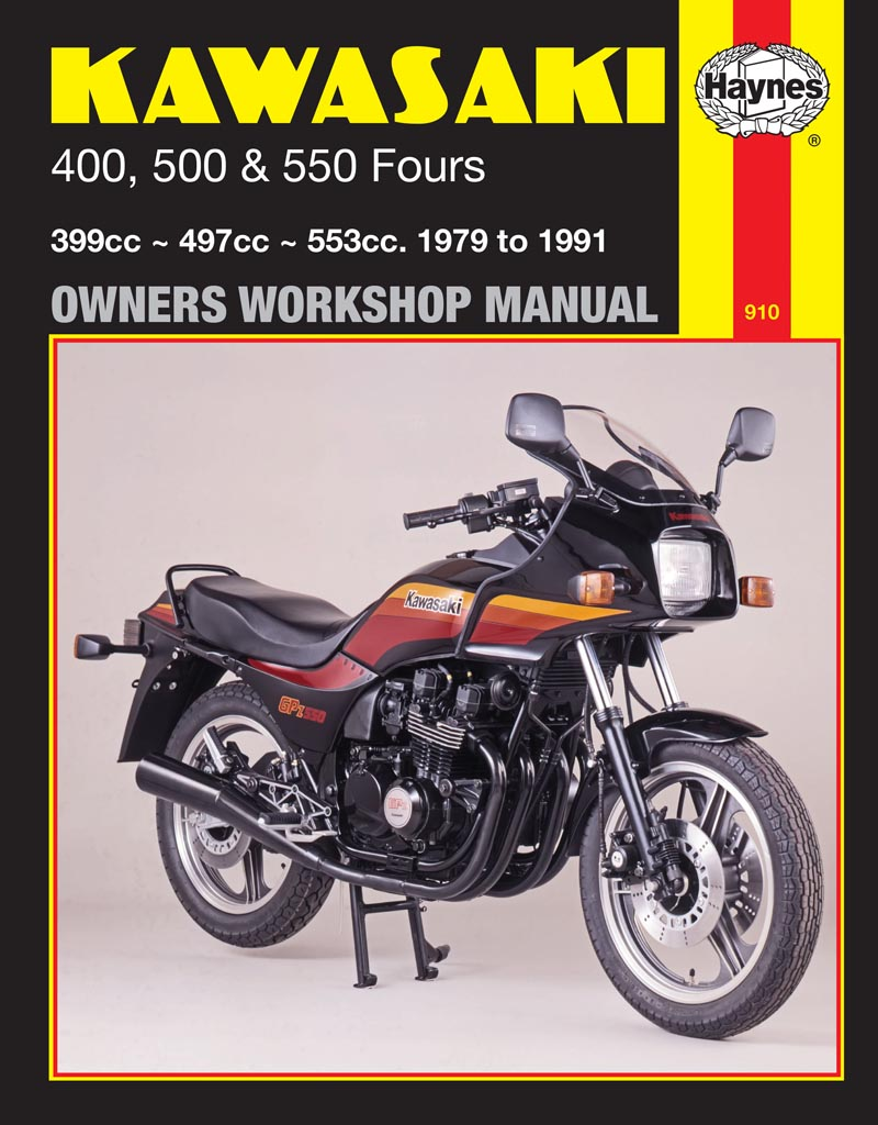 Kawasaki 400 500 550 Fours 79 91 Haynes Repair Manual – Kawasaki Motorcycle Wiring Diagrams 83 550