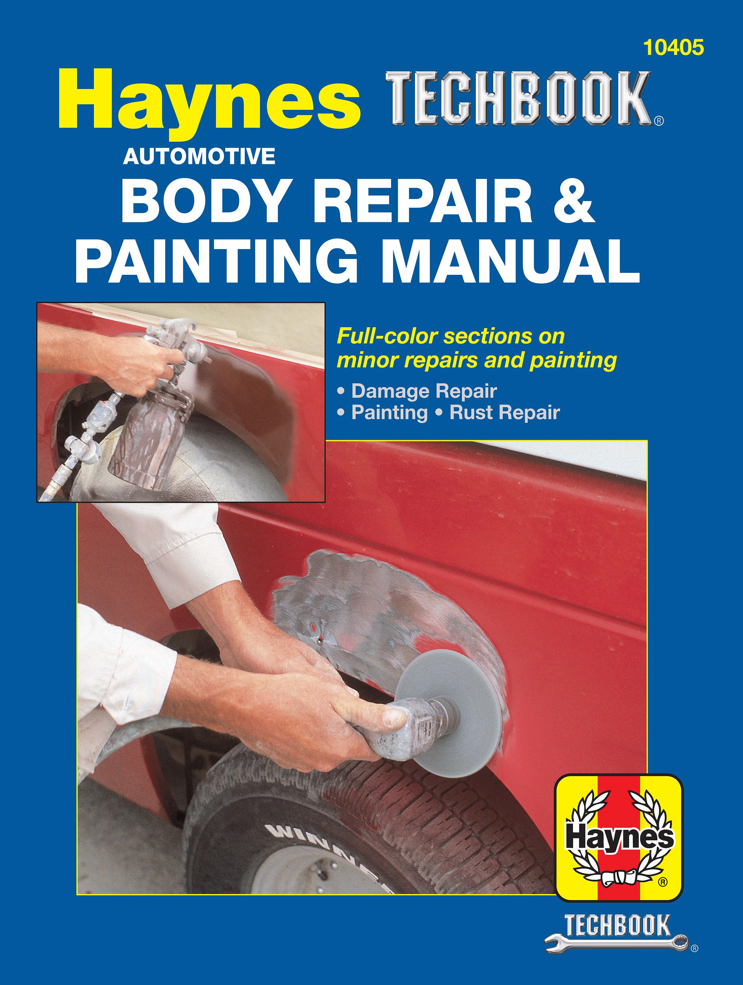 Automotive Body Repair & Painting Haynes Techbook (USA)