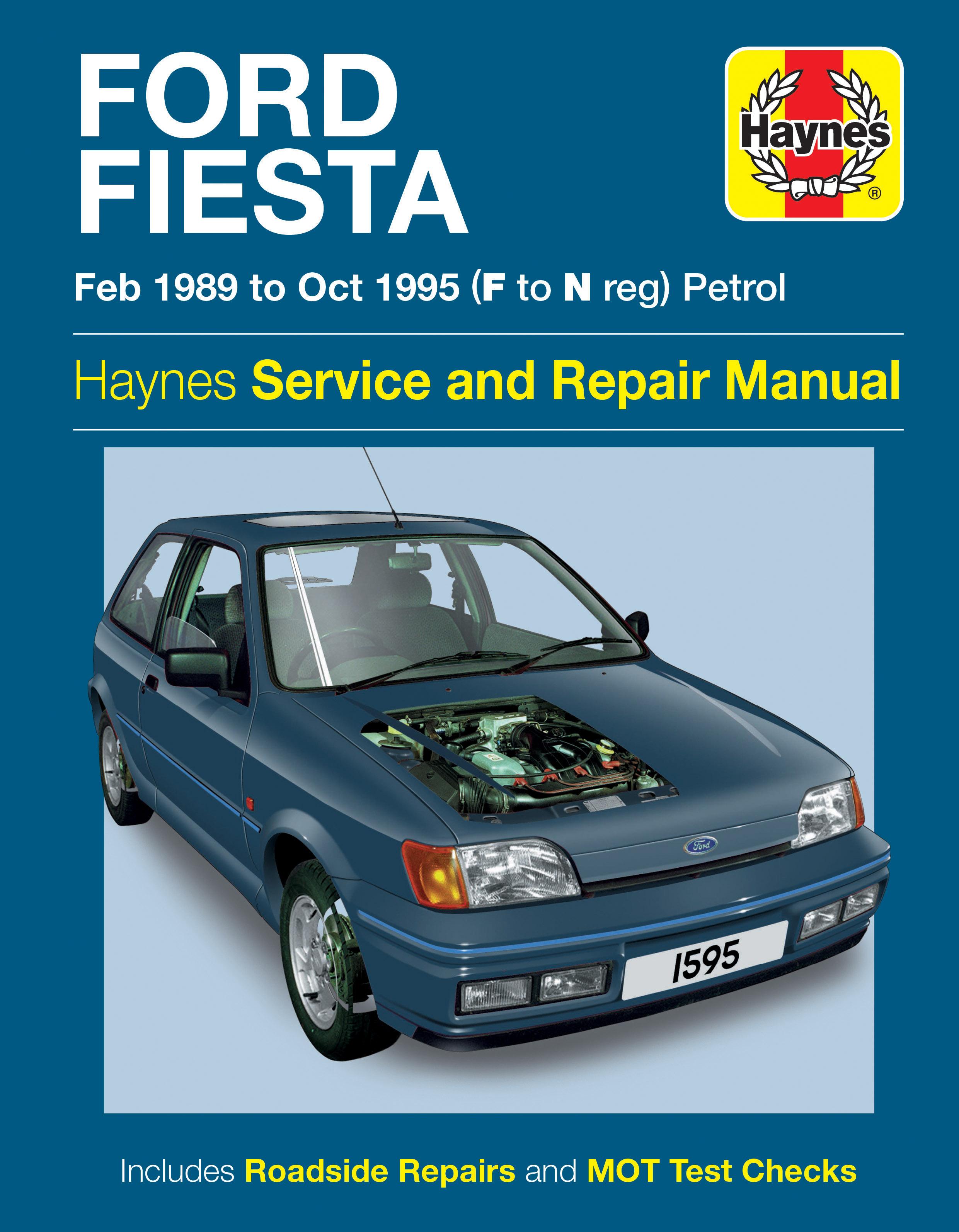 Ford Fiesta Petrol Feb 89 Oct 95 Haynes Repair Manual border=