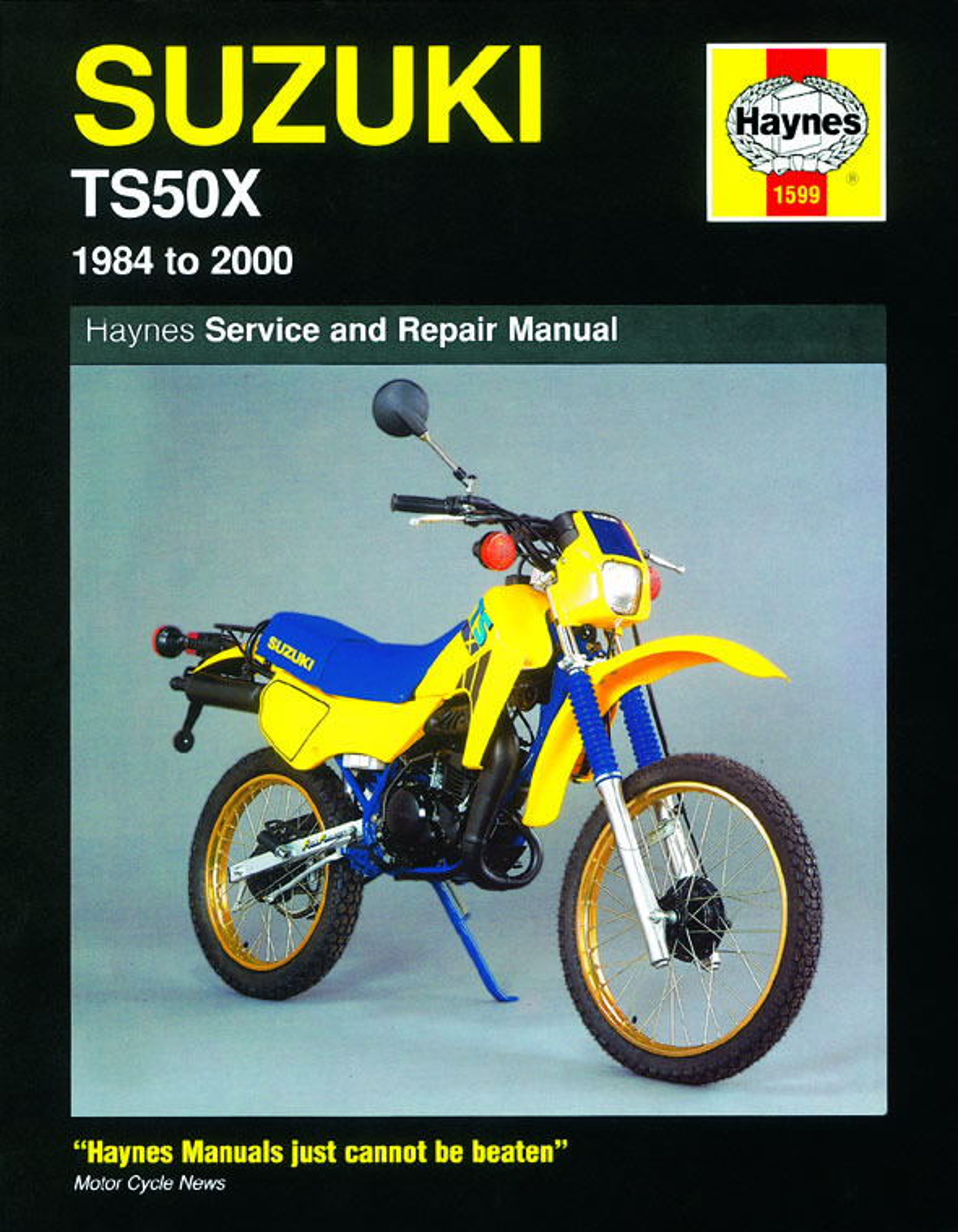 Suzuki TS50X (84 - 00) Haynes Repair Manual