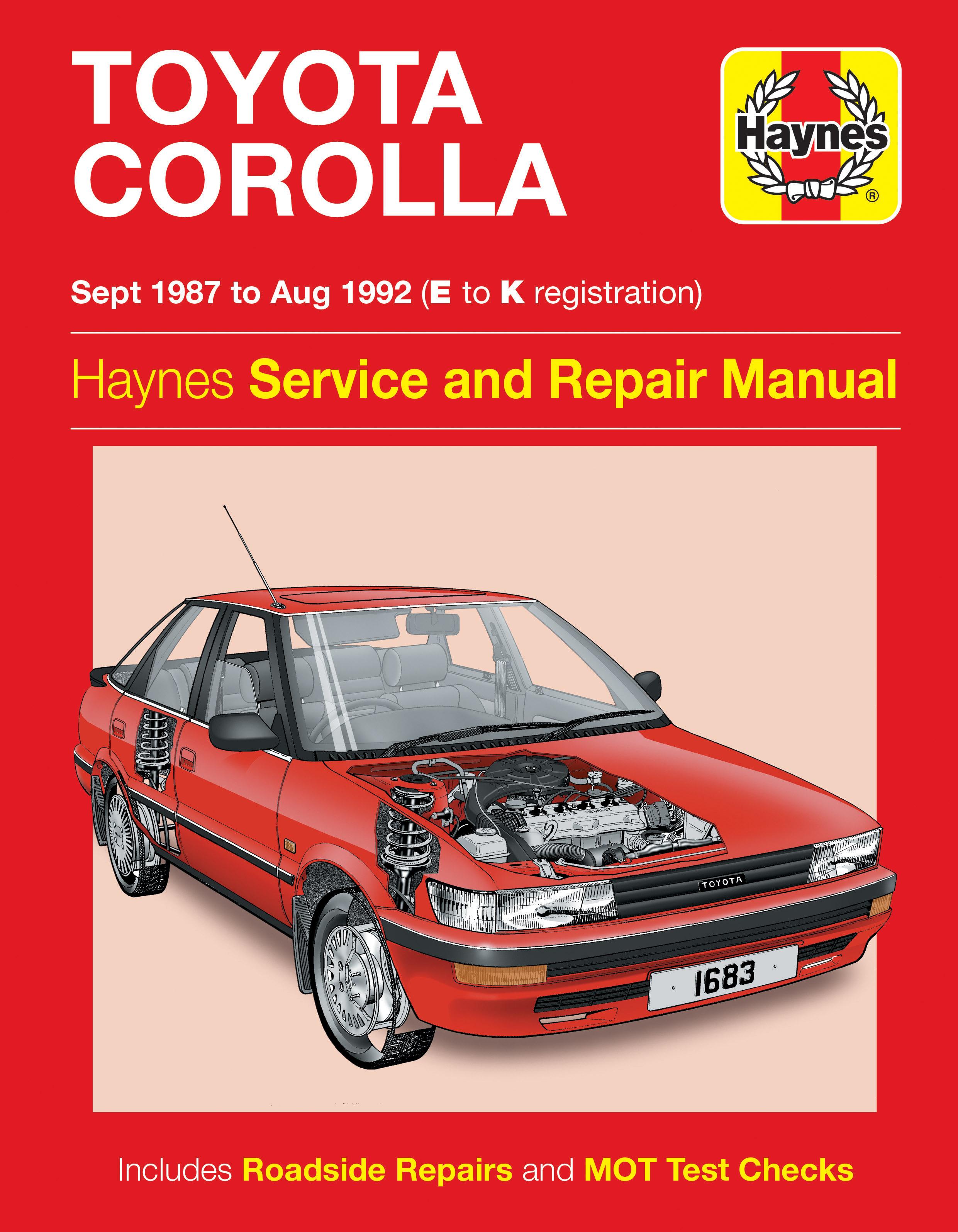 Corolla Haynes Publishing