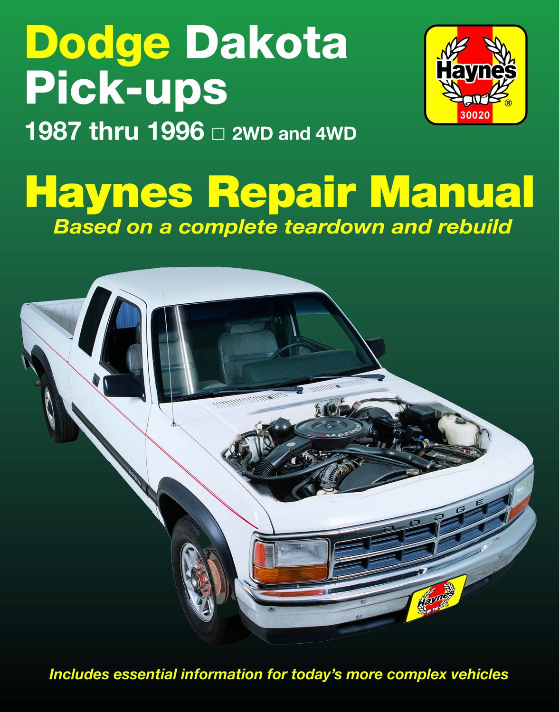dodge dakota pick up 1987 1996 haynes repair manual usa haynes rh haynes com dodge dakota service manual pdf 2003 dodge dakota service manual