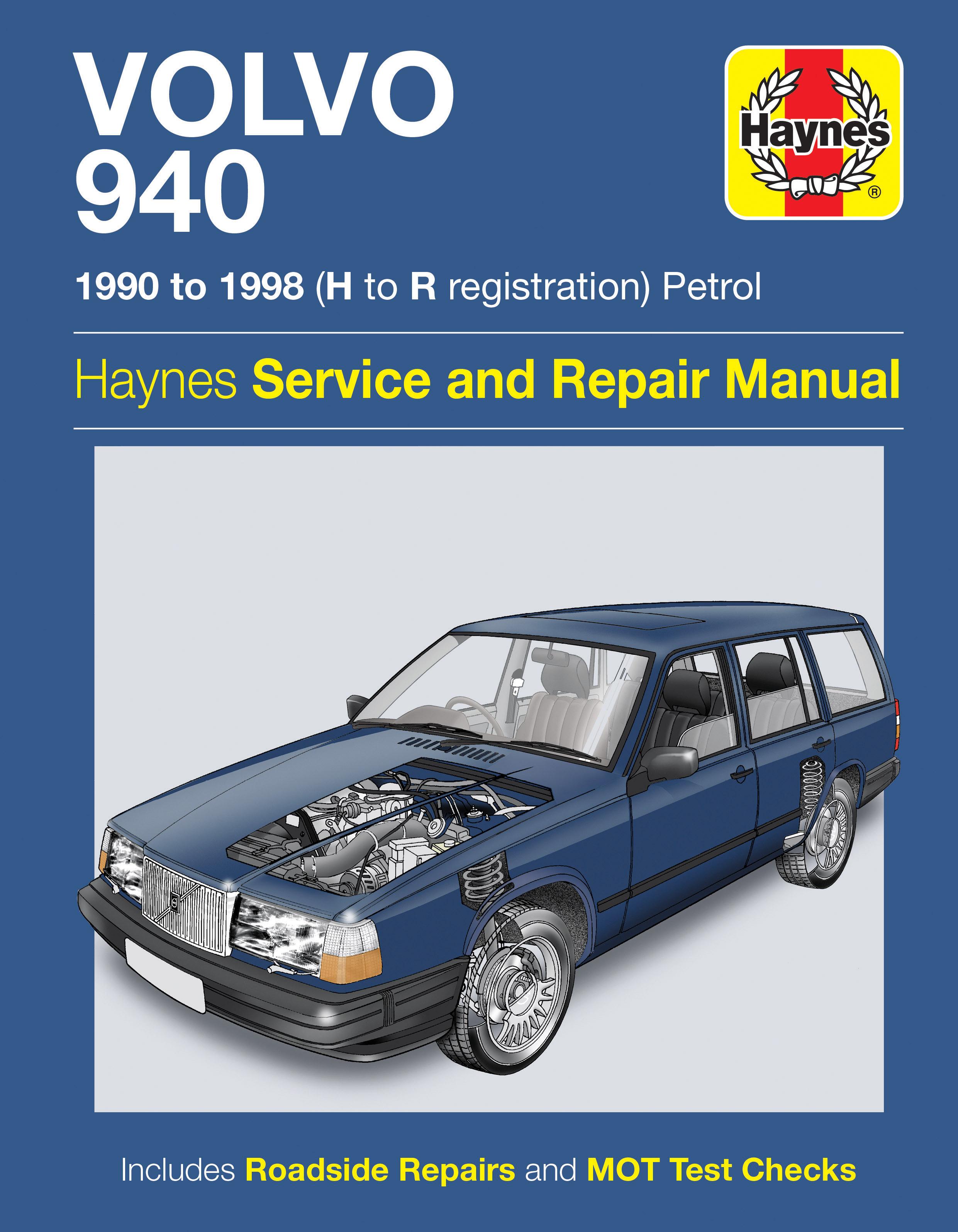 Volvo 940 (1990 - 1998) Repair Manuals