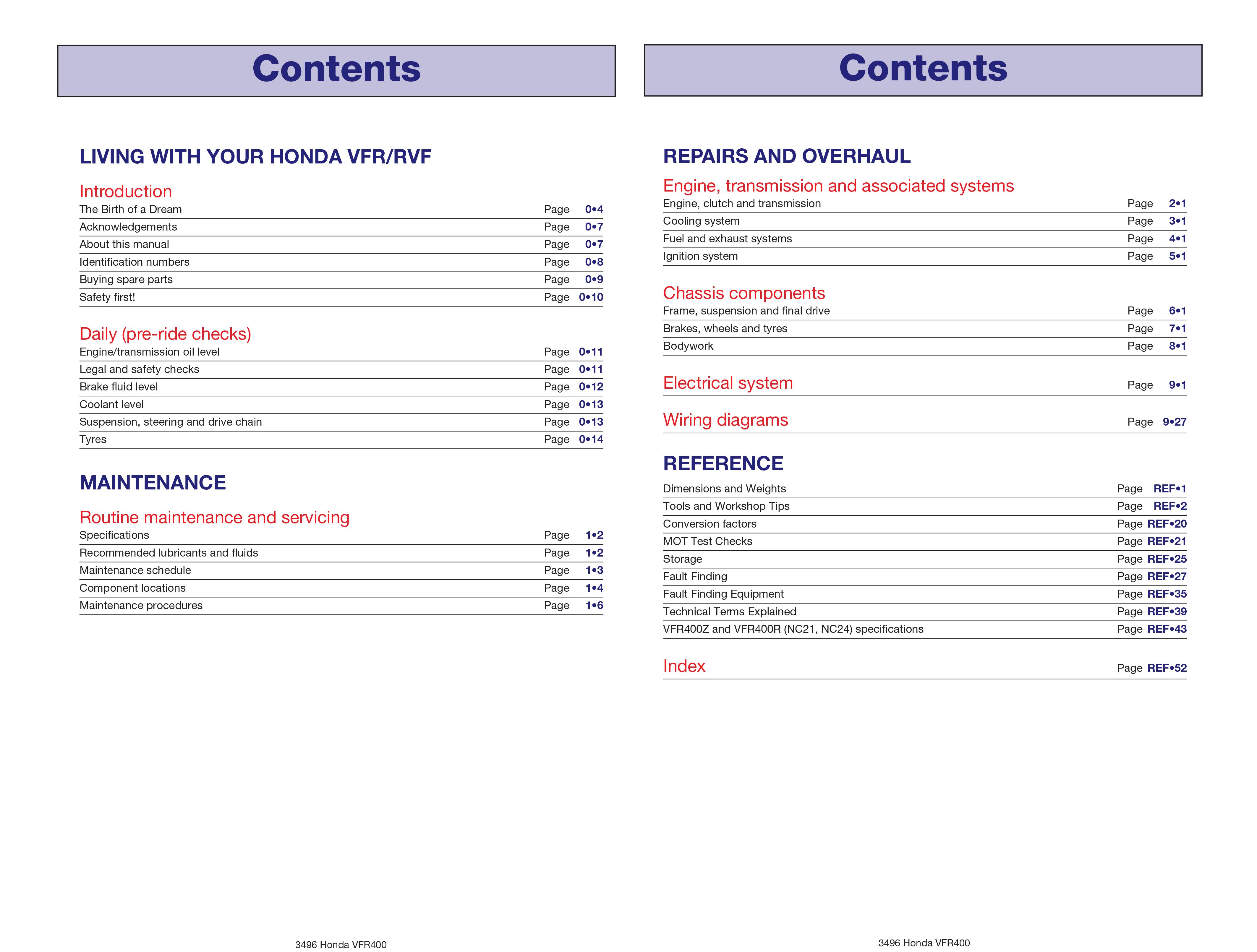 Honda vfr400 nc30 rvf400 nc35 v fours 89 98 haynes repair honda vfr400 nc30 rvf400 nc35 v fours 89 asfbconference2016 Choice Image