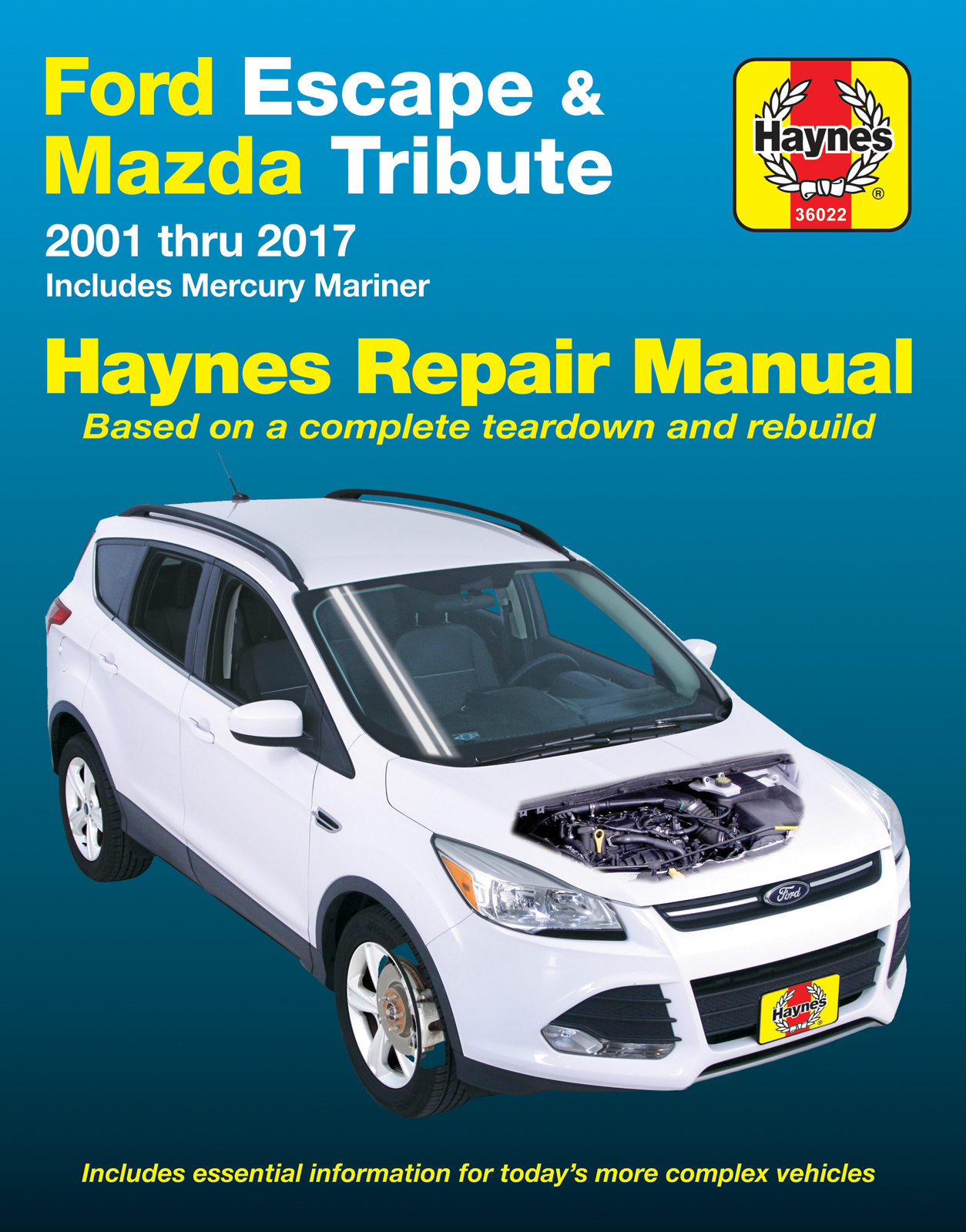 Ford Escape (2001 - 2017) Repair Manuals on