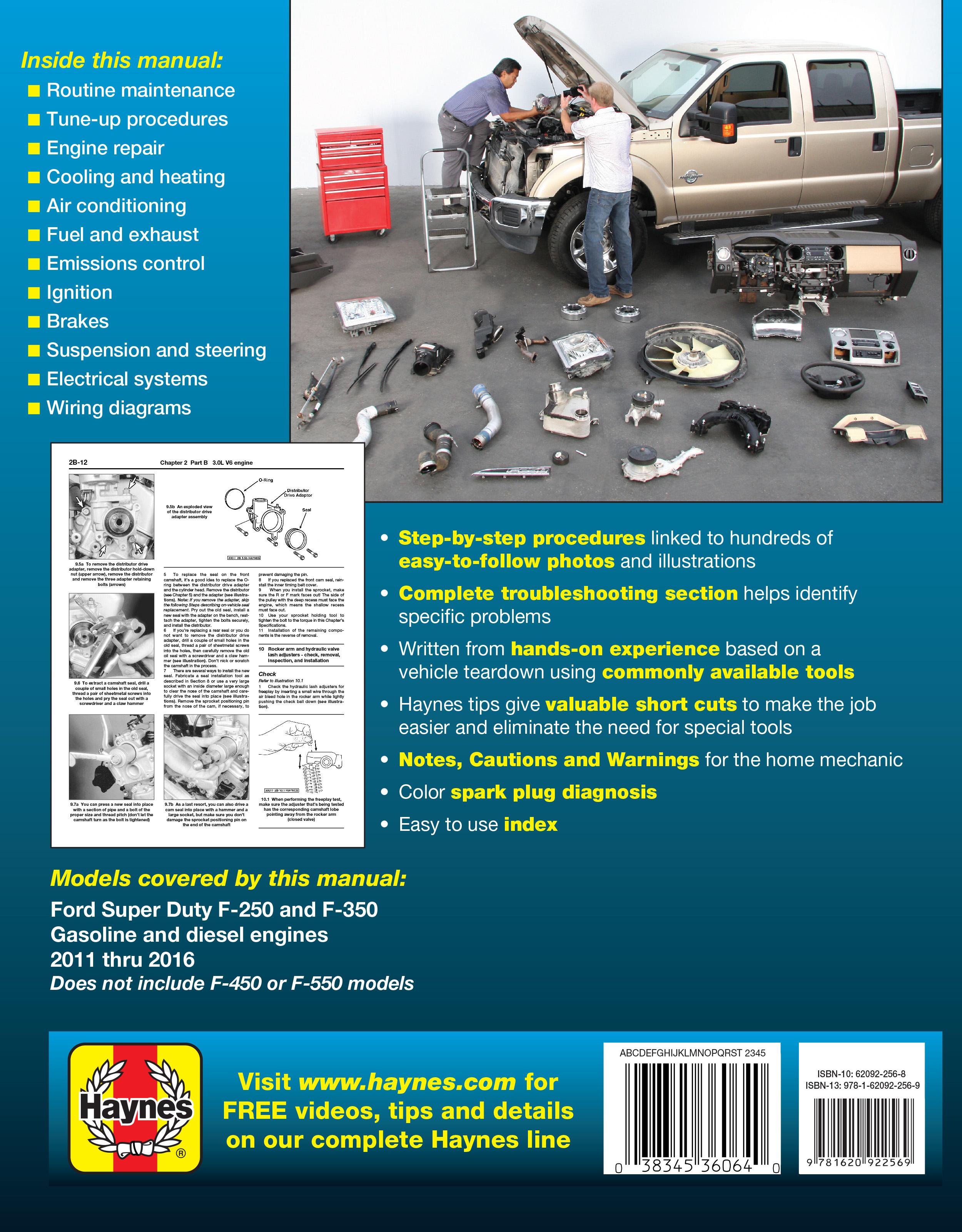 F 250 Super Duty Haynes Publishing 1961 Cadillac Distributor Wiring Scroll Right