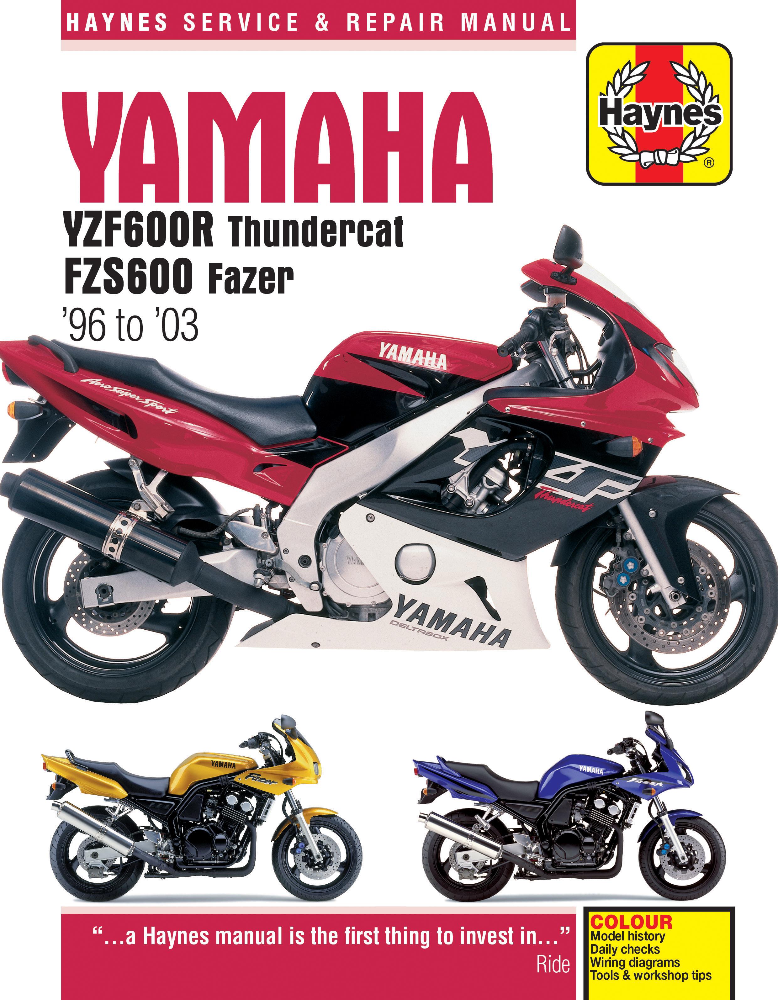 Yamaha Yzf 600 Wiring Diagram - Schematics Online on