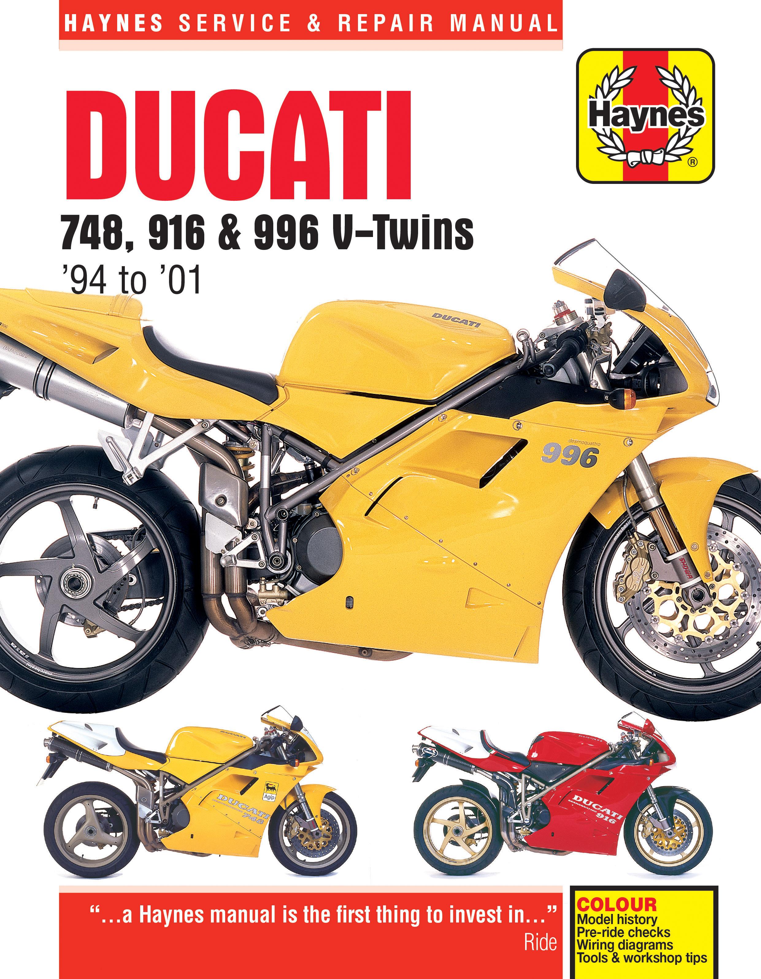 916 v twins haynes publishing Husaberg Wiring Diagram Ducati 996 Wiring Diagram #16